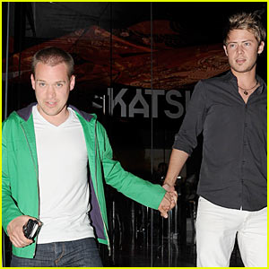 T.R. Knight & Mark Cornselsen: Katsuya Couple