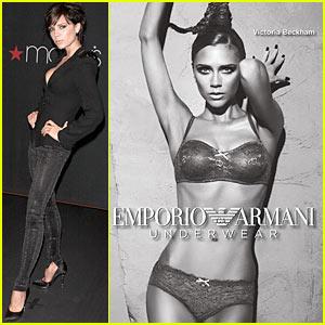 Victoria Beckham: New Armani Underwear Ad!