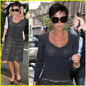 Victoria Beckham is a Chelsea Chick