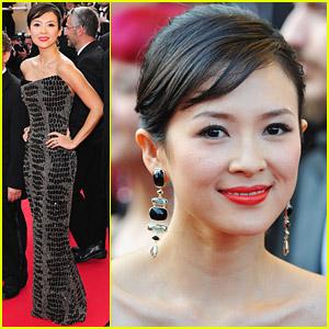 Ziyi Zhang's Inglourious Earrings