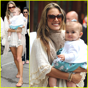 Alessandra Ambrosio is Beaming With Baby