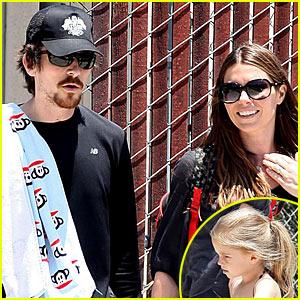 Christian Bale Has A Paul Frank Family