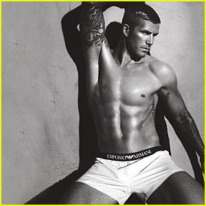 More Sexy David Beckham Armani Ads!