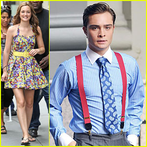 Ed Westwick is Suspenders Sexy