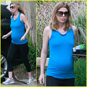 Ellen Pompeo: Pastry Pregnancy!