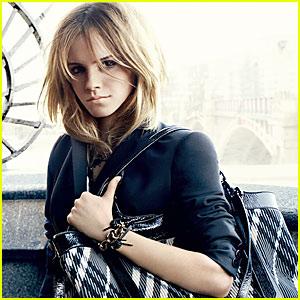 Emma Watson's Burberry Ads -- FIRST LOOK!