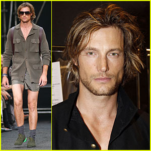 Gabriel Aubry Hits Louis Vuitton Runway