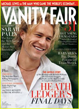 Heath Ledger Covers Vanity Fair