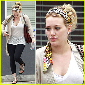 Hilary Duff is Pilates Pumped