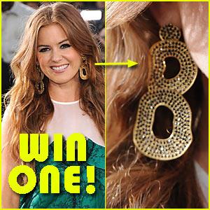 Win Isla Fisher's Melinda Maria Earrings!