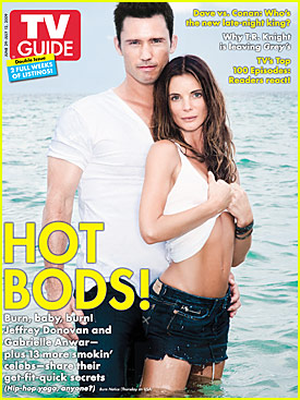 Jeffrey Donovan Burns Up Cover Of TV Guide