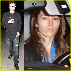 Jessica Biel and Justin Timberlake's Dinner Date