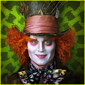 Johnny Depp is The Mad Hatter -- FIRST PICTURE!