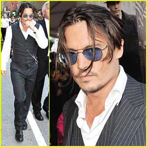 Johnny Depp Pursues Public Enemies