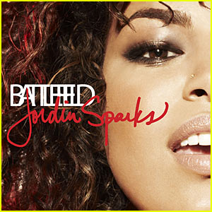 Jordin Sparks - 'Battlefield' Album Cover!