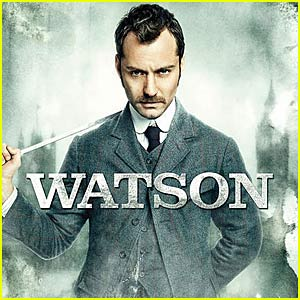 Jude Law: Sherlock Holmes Movie Posters!