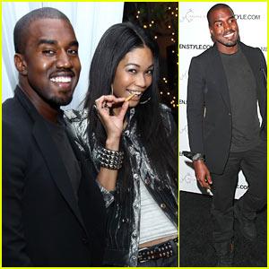 Kanye West & Chanel Iman: Cabana Couple