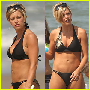 Kate Gosselin: Beach Bikini!