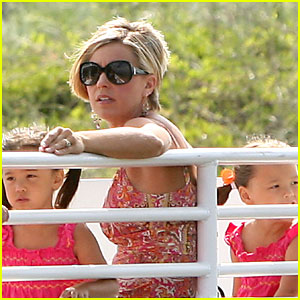 Kate Gosselin: Family Ferry Ride!