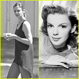 Katie Holmes Gets Happy With Judy Garland