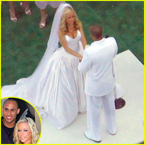 Kendra Wilkinson Wedding Pictures -- FIRST LOOK!