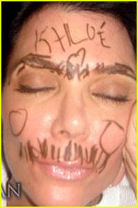 Kris Jenner Gets Drawn On
