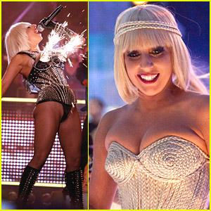 Lady Gaga's Explosive Performance