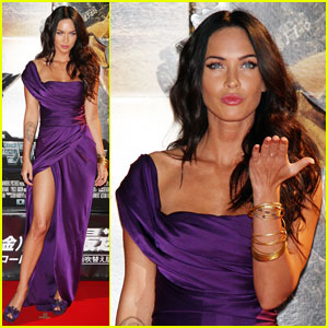 Megan Fox is Tokyo Terrific For Transformers