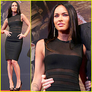 Megan Fox Premieres Transformers In Korea