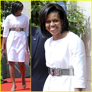 Michelle Obama Obama Hails D-Day Heroes