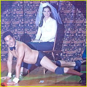 Oscar Nunez is a Stripper