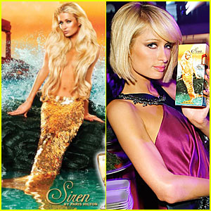Paris Hilton is The Little Mermaid