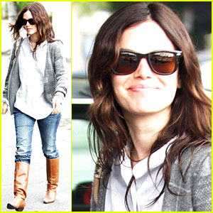 Rachel Bilson is Brown Boot Beautiful