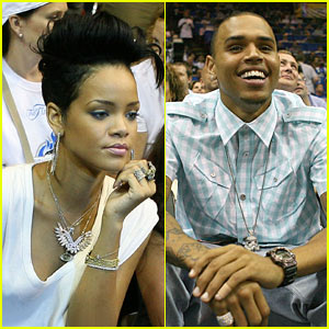 Rihanna & Chris Brown: Basketball Bunch