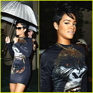 Rihanna Growls Like a Gorilla