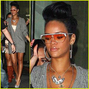 Rihanna Shows Her Shady Side