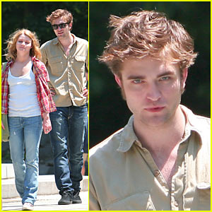 Robert Pattinson is Central Park Pretty