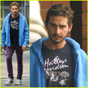 Shia LaBeouf is a Harley Davidson Dude