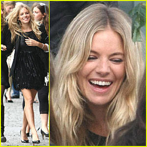Sienna Miller Gets Pretty in Paris