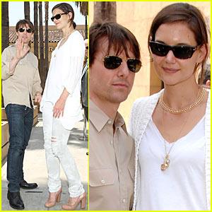 Tom Cruise & Katie Holmes: Team Cameron Diaz!