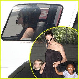 Angelina Jolie: Back To Flying Lessons