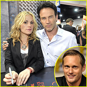 Anna Paquin &#038; Stephen Moyer: Comic-Con Couple