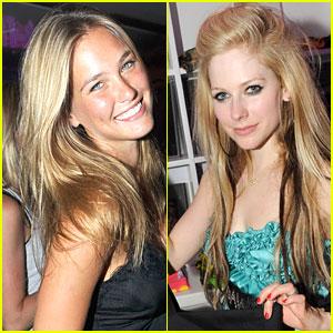 Bar Refaeli & Avril Lavigne Party It Up