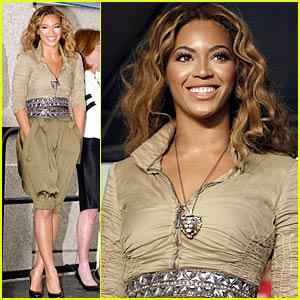 Beyonce Knowles is Feeding America