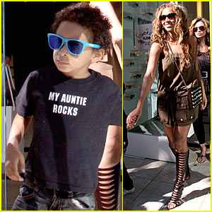 Beyonce's Nephew: My Auntie Rocks!