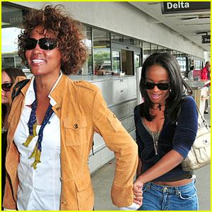 Whitney Houston: Here's My Baby Bobbi Brown!