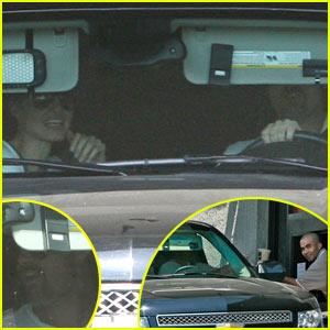 Brad Pitt & Angelina Jolie: McDonald's Drive-Thru!