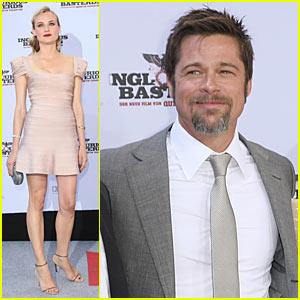Brad Pitt Brings Basterds To Berlin