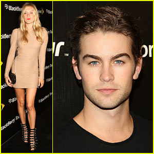 Chace Crawford Launches BlackBerry Tour