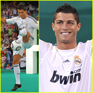 Cristiano Ronaldo is a Real Madrid Player